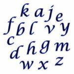 cortantes-alfabeto-script minusculas