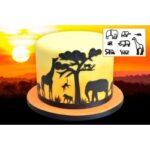 cortantes-silhoueta-animais-da-selva-safari