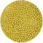 pérolas ouro metalizadas