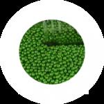 pérolas verde s